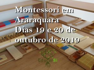Montessori em Araraquara